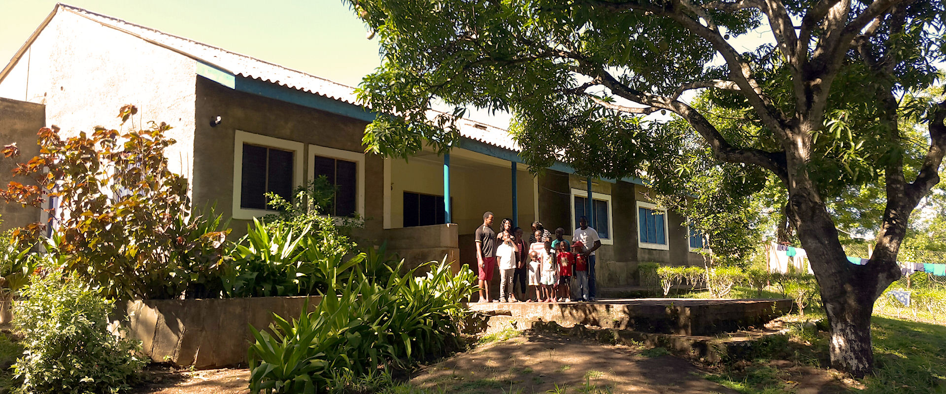 Diani Childrens Village | entree opvanghuis Diani Kenia
